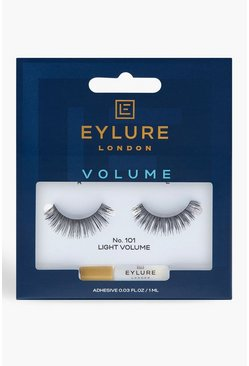 Eylure Volumen-Wimpern 101, Schwarz, Damen