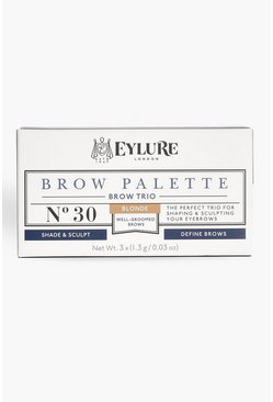 Womens Brown Eylure Brow Palette - Blonde