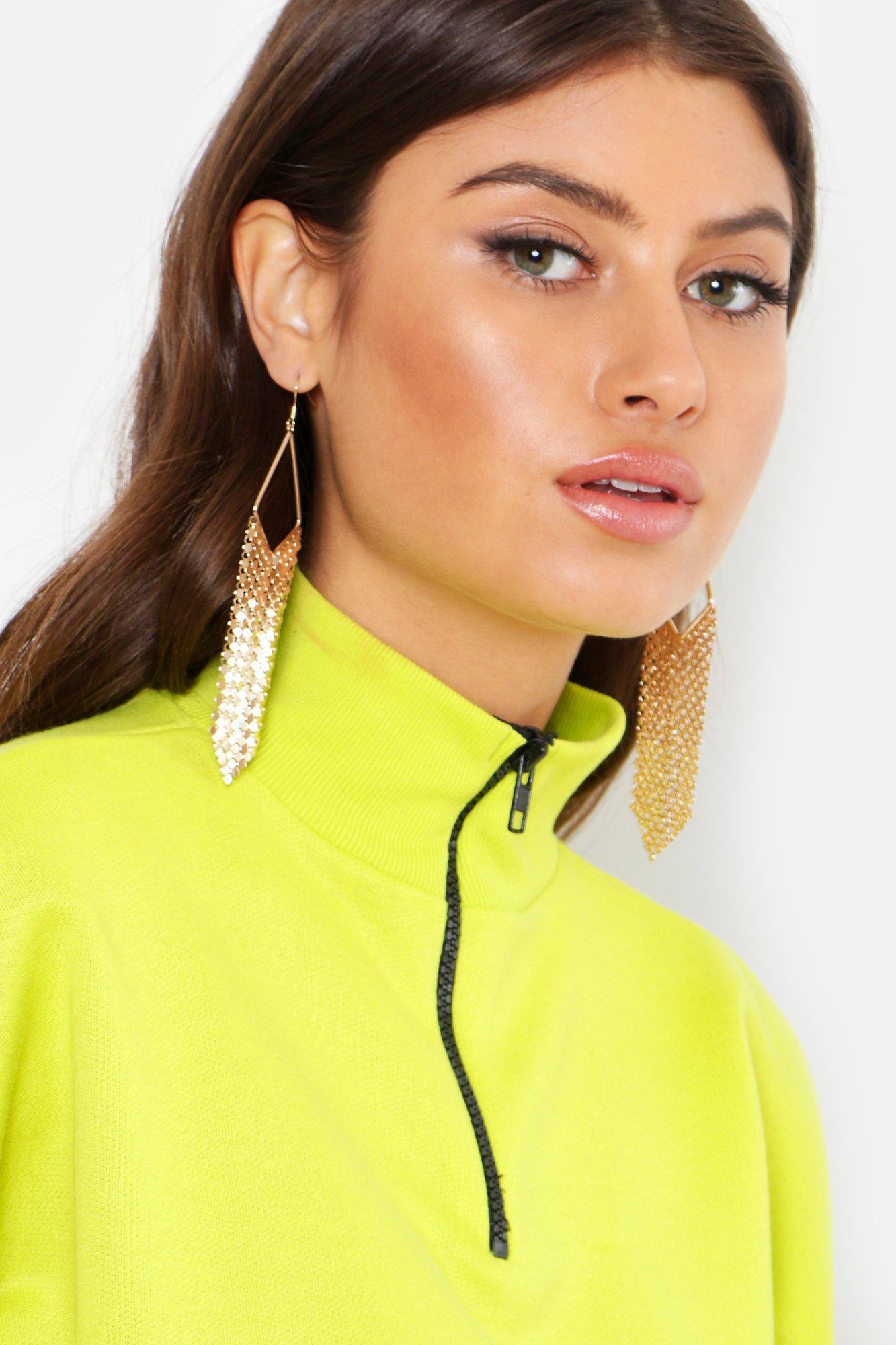 Chainmail Drop Earrings