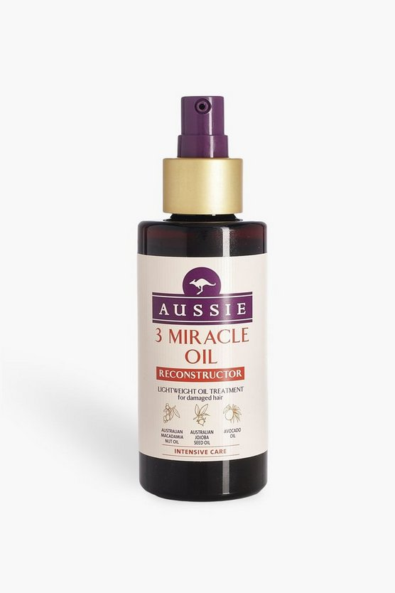 Womens White Aussie 3 Miracle Oil