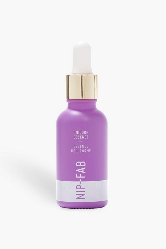 Womens White Nip + Fab Unicorn Essence Serum