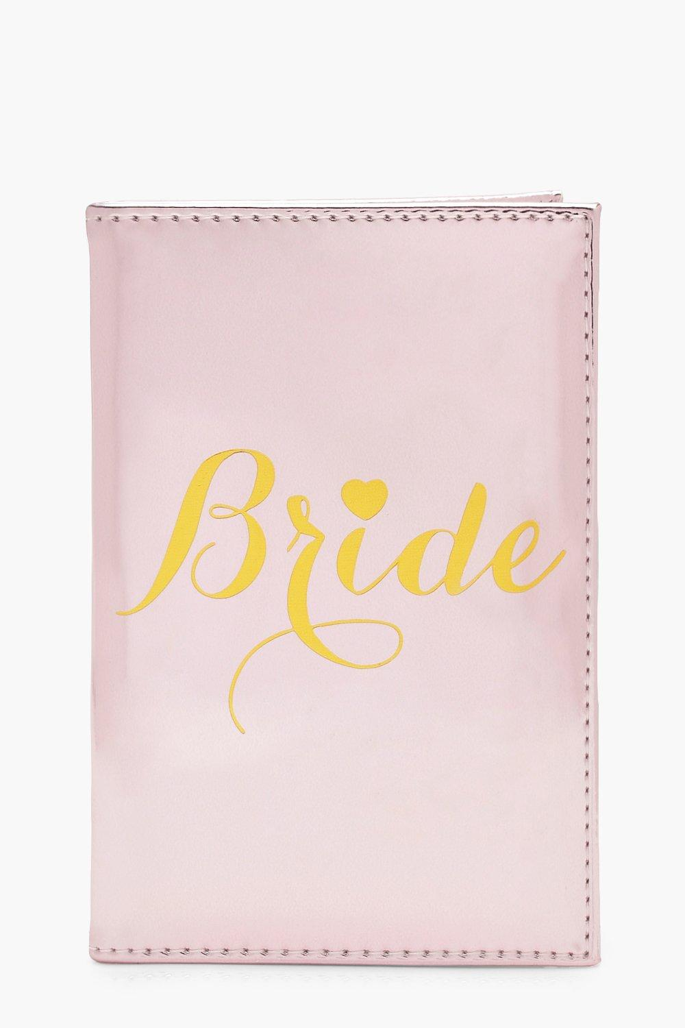 Bride Metallic Passport Holder