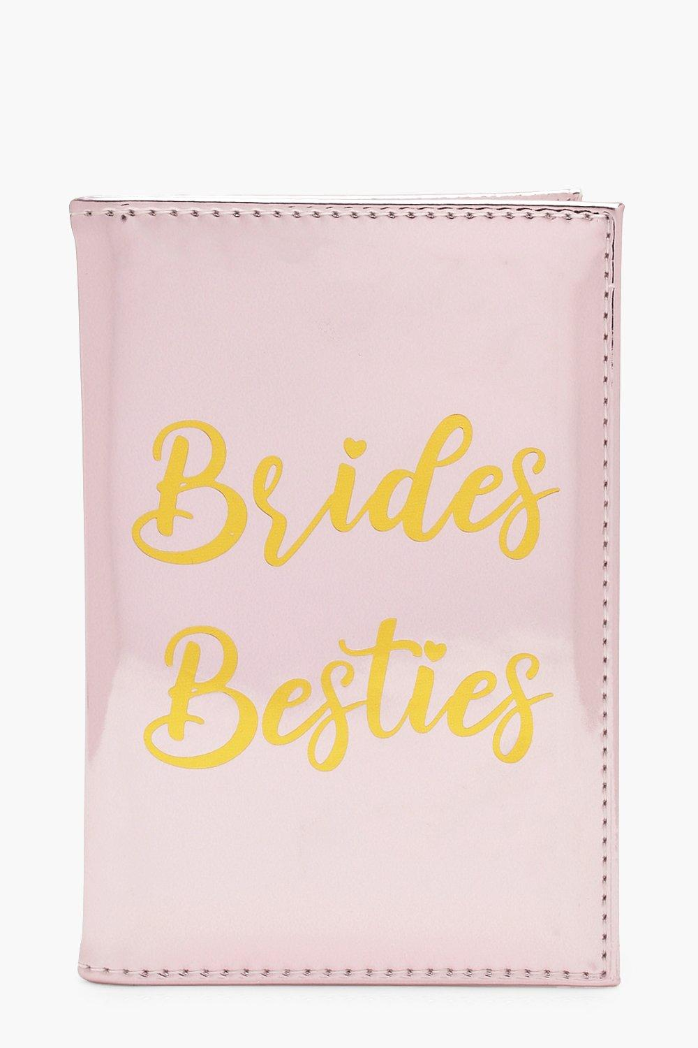 Brides Besties Metallic Passport Holder