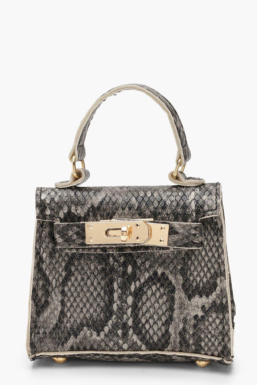 Faux Snake Mini Bag