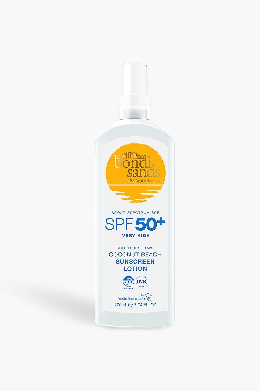 womens bondi sands lotion spf50 - white - one size