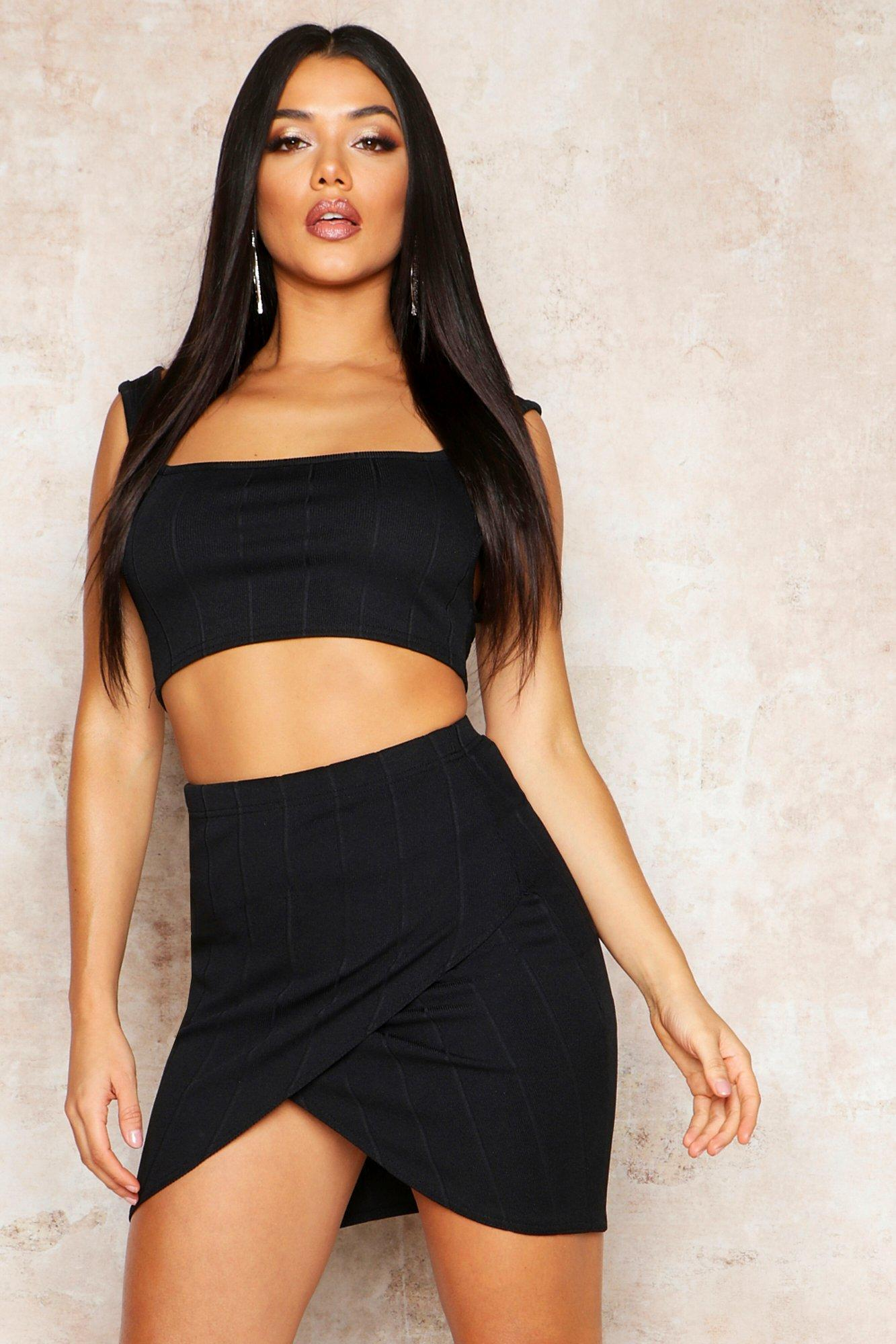 Highwaist Bandage Mini Skirt