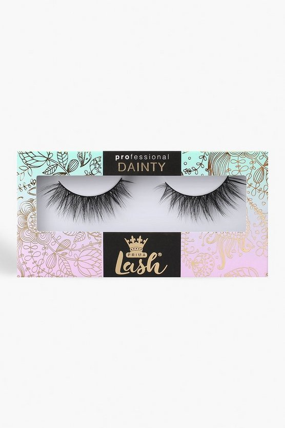 Womens Black Prima Lash Dainty Soft Touch #D11