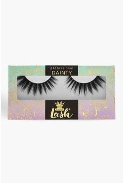 Womens Black Prima Lash Dainty Soft Touch #D16