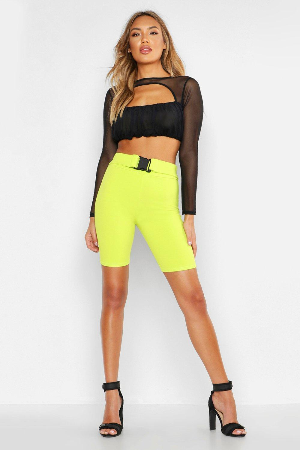 009f2b1fba7a4 Keyhole Detail Ruched Mesh Crop Top. Hover to zoom