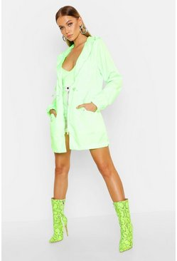 Womens Green Neon Festival Mac