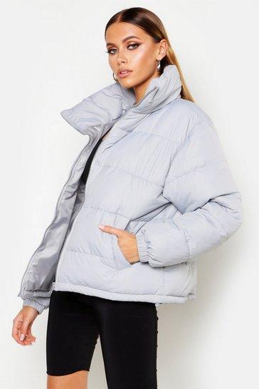 b1c0fe27f Funnel Neck Puffer Jacket