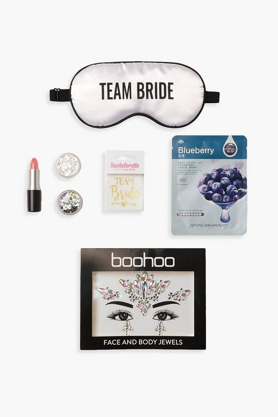 Womens White Team Bride Box