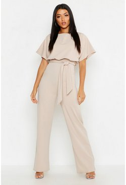 Stone Double Layer Jumpsuit