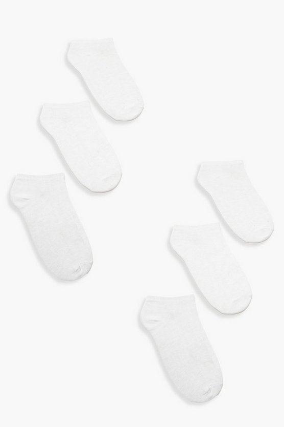 6 Pack Trainer Sock