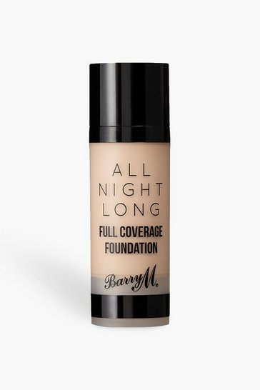 Womens Brown Barry M All Night Long Foundation - Milk