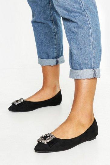 21c970e3bf279 Flat Shoes | Womens Ballet Shoes & Pumps | boohoo UK