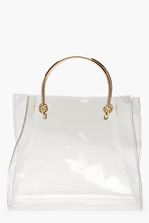 Clear Ring Handle Grab Bag