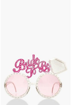 Bride To Be Novelty Glasses, Pink, FEMMES