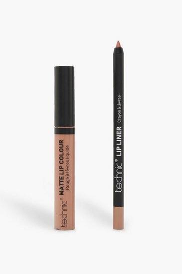 Womens Nude Technic Lip Kit - Barely There