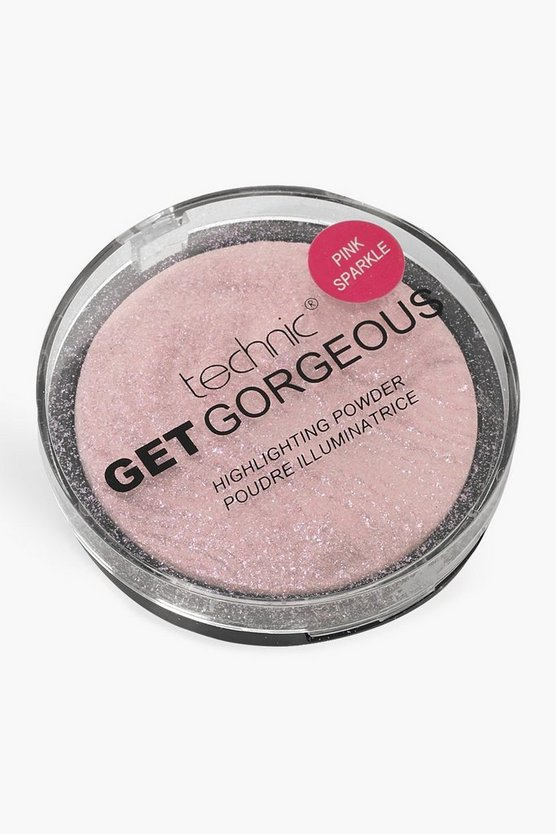 Technic Get Gorgeous Pink Sparkle, Pink, DAMEN