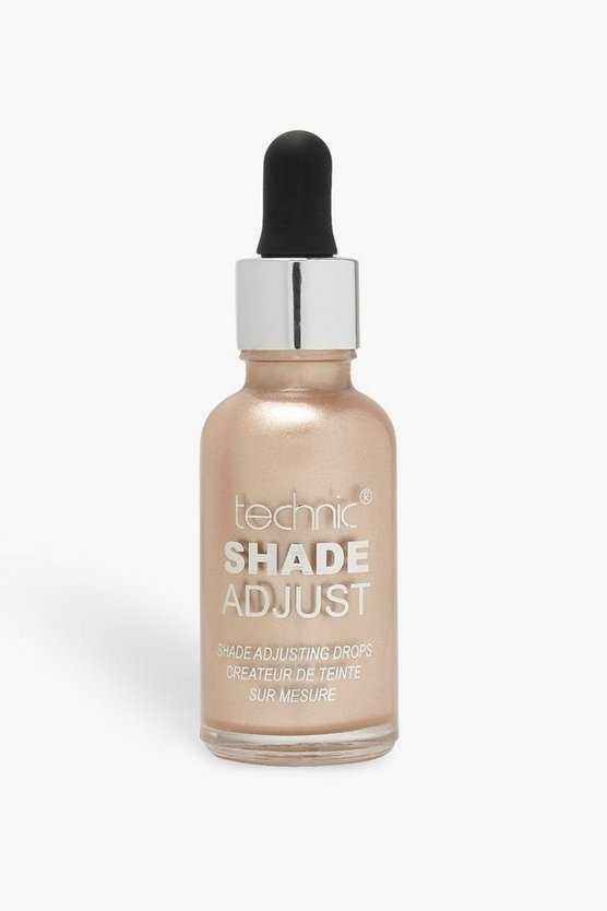 Womens Gold Technic Shade Adjusting Drops Highlight