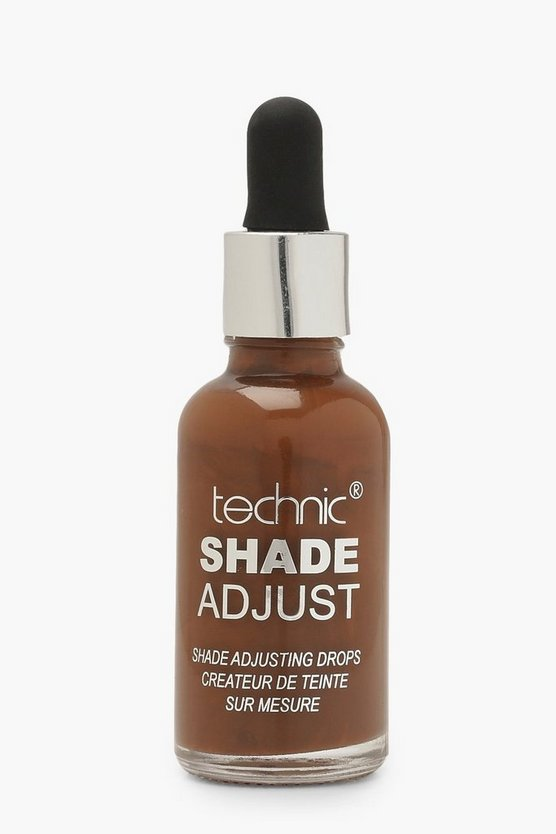 Womens Brown Technic Foundation Shade Adjusting Drops Dark