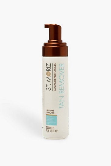 Womens White St Moriz Tan Remover