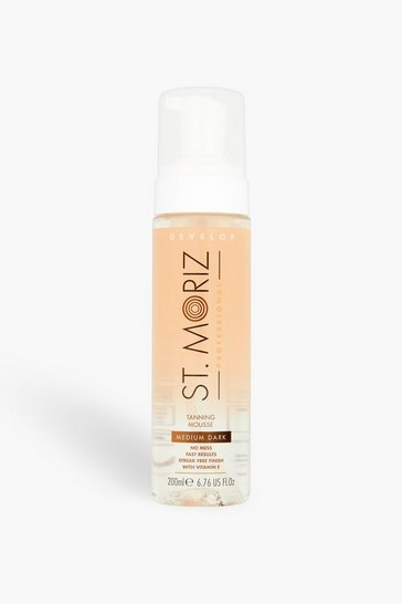 Womens Brown St Moriz Clear Tanning Mousse Medium Dark