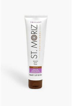 Womens Brown St Moriz Professional Wash Off Body