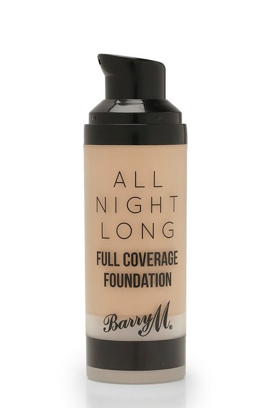 Womens Brown Barry M All Night Long Foundation - Crumb