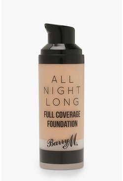 Womens Brown Barry M All Night Long Foundation - Dulce