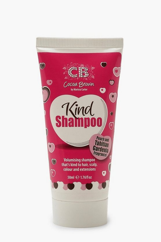 Womens Clear Cocoa Brown Kind Shampoo Travel Size