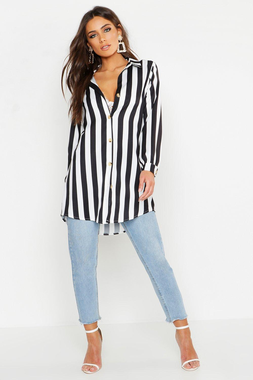 Woven Longline Shirt