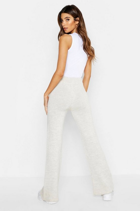 Pocket Front Knitted Trouser