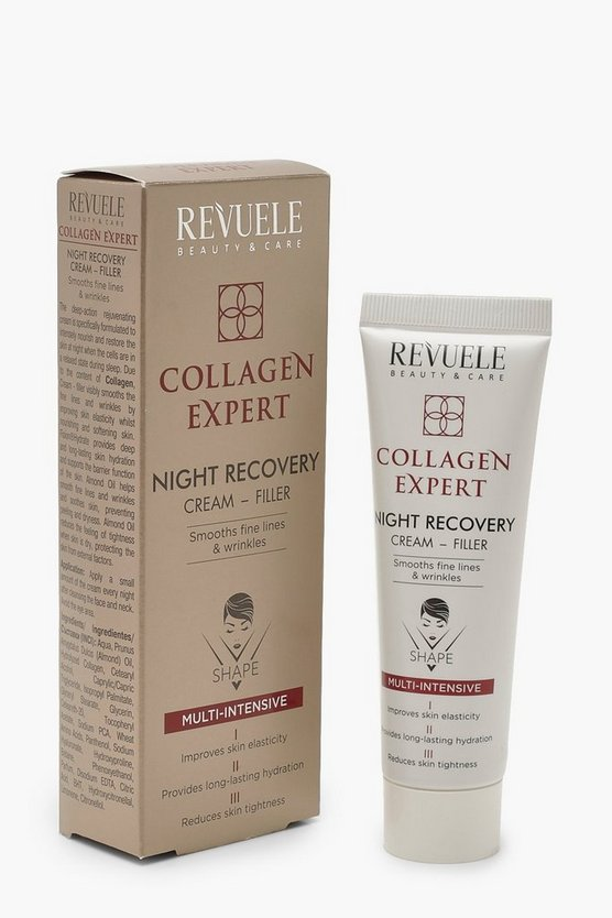 Womens White Revuele Collagen Night Cream Filler