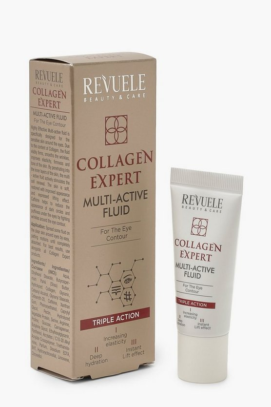 Womens White Revuele Collagen Multi Active Fluid
