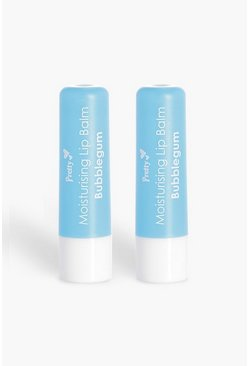 Womens Blue Pretty Bubblegum Lip Balm