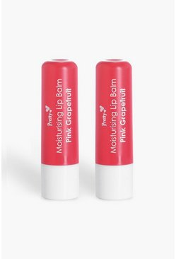 Pretty Grapefruit Lip Balm, Pink
