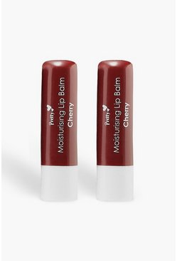 Pretty Cherry Lip Balm, Red