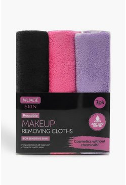 Womens Multi Make Up Removing Cloths - 3 Pack