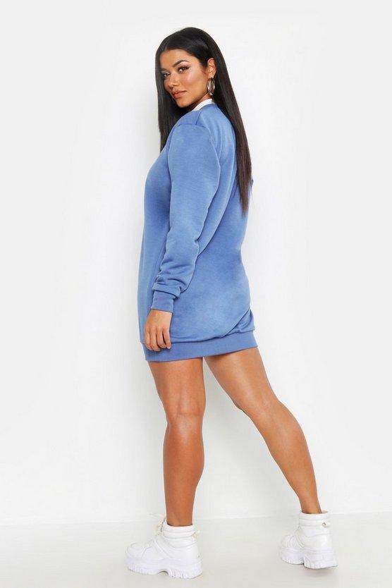 Amour Is French Oversized Sweatshirt Dress