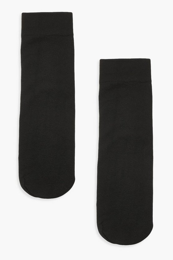 2er-Pack Thermo-Knöchelsocken