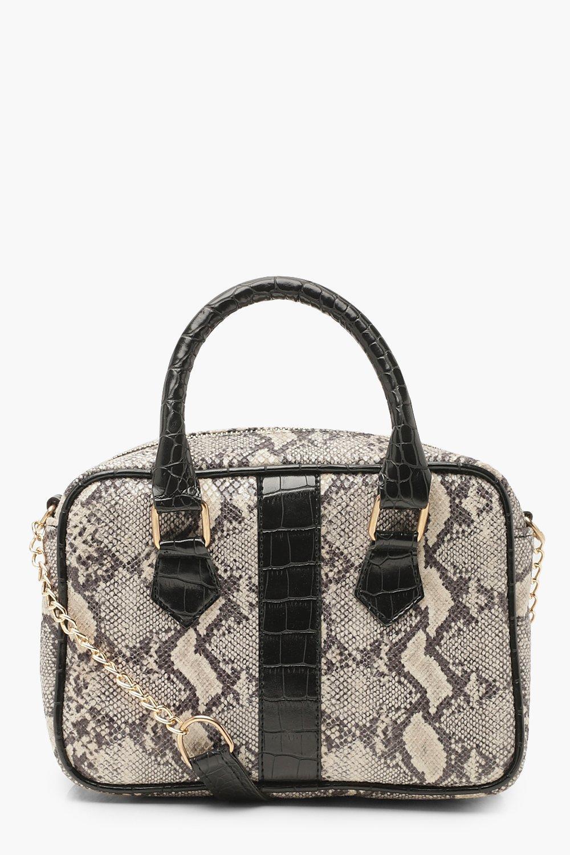 Faux Snake Bowling Bag