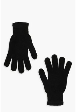 Womens Black Magic Gloves