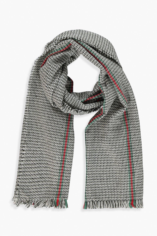 Stripe Detail Herritage Blanket Scarf