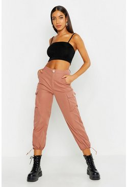 Womens Rose Toggle Hem Cargo Trouser
