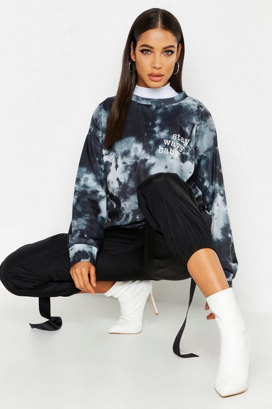 Tie Dye Oversized Sweat