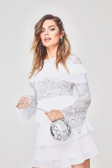 640acf03 Sequin Dresses | Glitter & Sparkly Sequin Dresses | boohoo UK