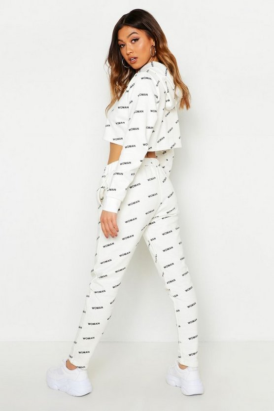 All Over Print Woman Jogger