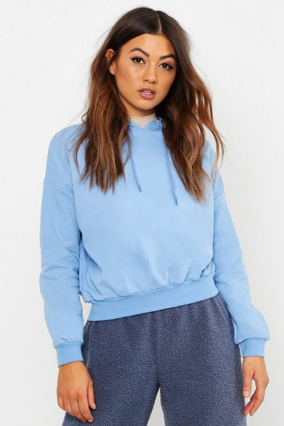 Womens Sky Oversized Brush Back Sweat